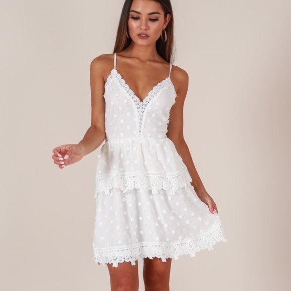 Showpo Everywhere With You Dress in White e3939e5be